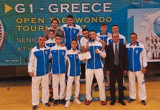 Μία ακόμα διεθνής επιτυχία για τους αθλητές της Μακεδονικής Δύναμης Κοζάνης στο TaeKwonDo