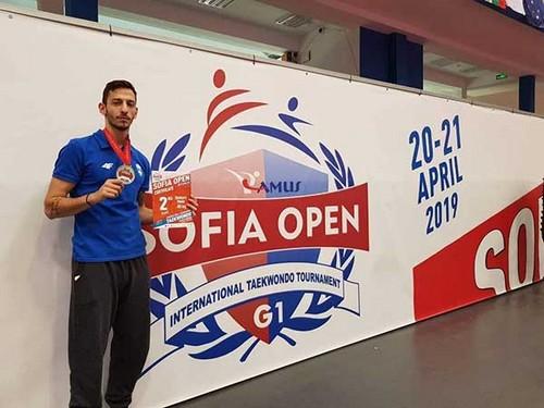 Tη δεύτερη θέση με αργυρό μετάλλιο ο Απόστολος Τεληκωστόγλου στο G1 της Βουλγαρίας