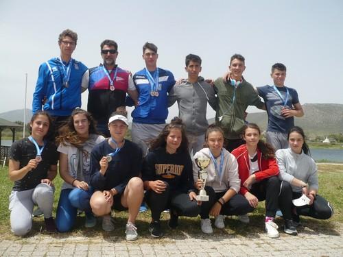 Συμμετοχή σε 11 τελικούς και πρωταθλητής Ελλάδος στο αγώνισμα δίκωπος άνευ εφήβων ο Ναυτικός Όμιλος Κοζάνης στο Πανελλήνιο Πρωτάθλημα Κωπηλασίας