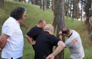 Επίσκεψη κλιμακίου Δασολόγων στο λόφο του κάστρου Σερβίων