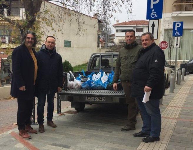 Μια πράξη αλληλεγγύης από τους κυνηγούς των Σερβίων