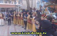 Στιγμιότυπα από τη γιορτή γιαπρακιού στην κεντρική πλατεία Σερβίων (βίντεο)