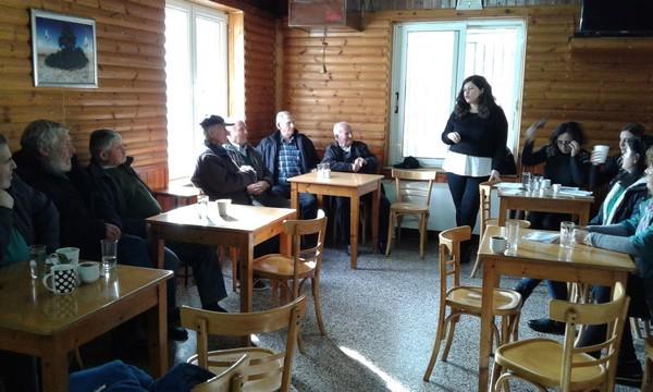 Συναντήσεις στα χωριά του Δήμου για ενημέρωση των κατοίκων για τις κοινωνικές δομές