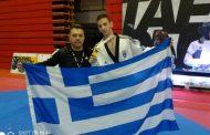 Χρυσό μετάλλιο για τον Τεληκωστόγλου Αποστόλη στο Βελιγράδι