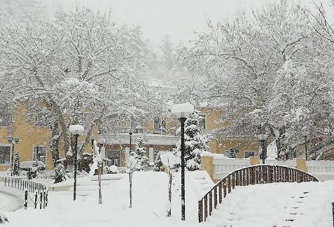 foto gallery από τον φετινό χιονιά