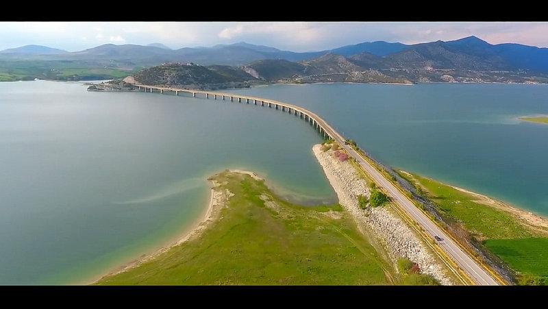 Αγία Βαρβάρα Λίμνη Πολυφύτου Γέφυρα Σερβίων (video)