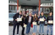 Ομάδα μαθητών του Γενικού Λυκείου Σερβίων Ερευνητές του CERN