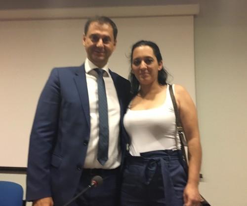 Συνάντηση της εντεταλμένης συμβούλου του Δήμου Σερβίων κας Νανάς Γκαμπούρα με τον Υπουργό και τον Υφυπουργό Τουρισμού.